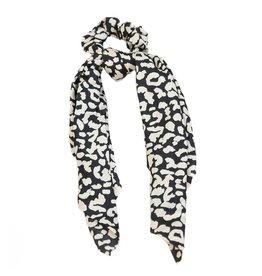 Love Ibiza Sjaal scarf leopard black