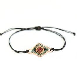 Love Ibiza Bracelet Leopard Black