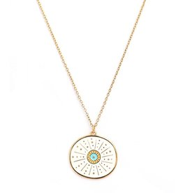 Love Ibiza Ketting gold sol