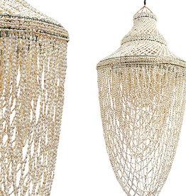Damn Hanglamp schelpen  25 x 70 cm