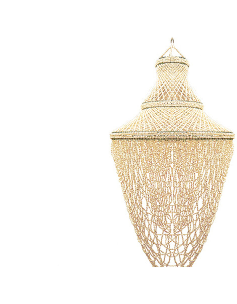 Damn Hanglamp schelpen  30 x 90 cm