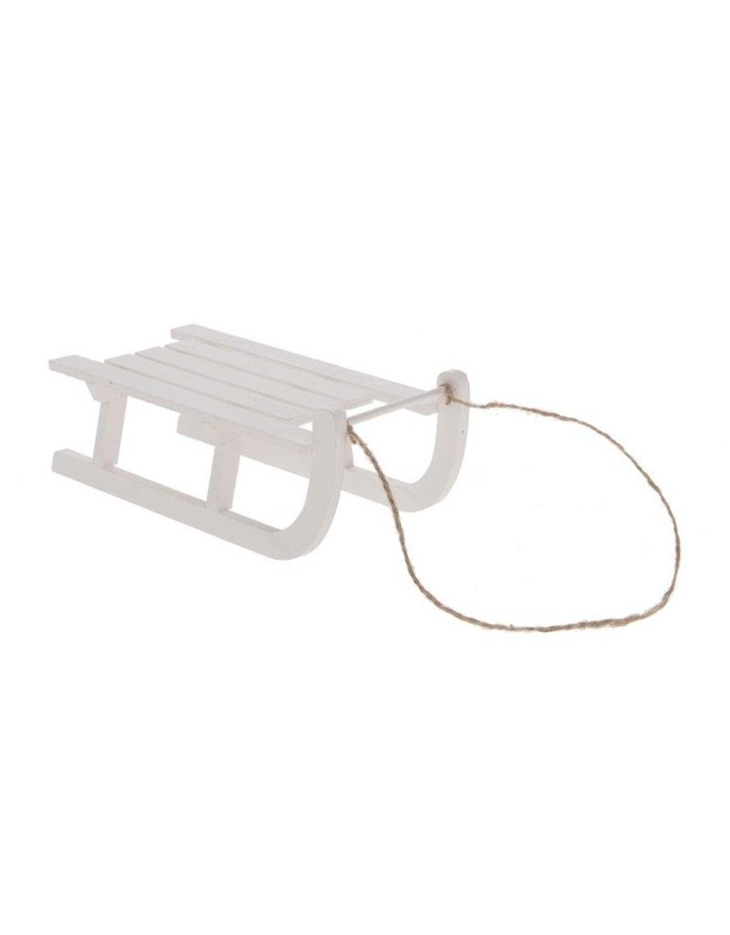 Damn Houten slee hanger 10 cm