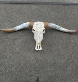 Damn Longhoorn gegraveerd echt  Medium