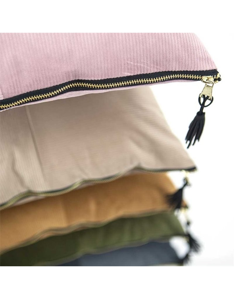 By-Boo Pillow corduroy pink