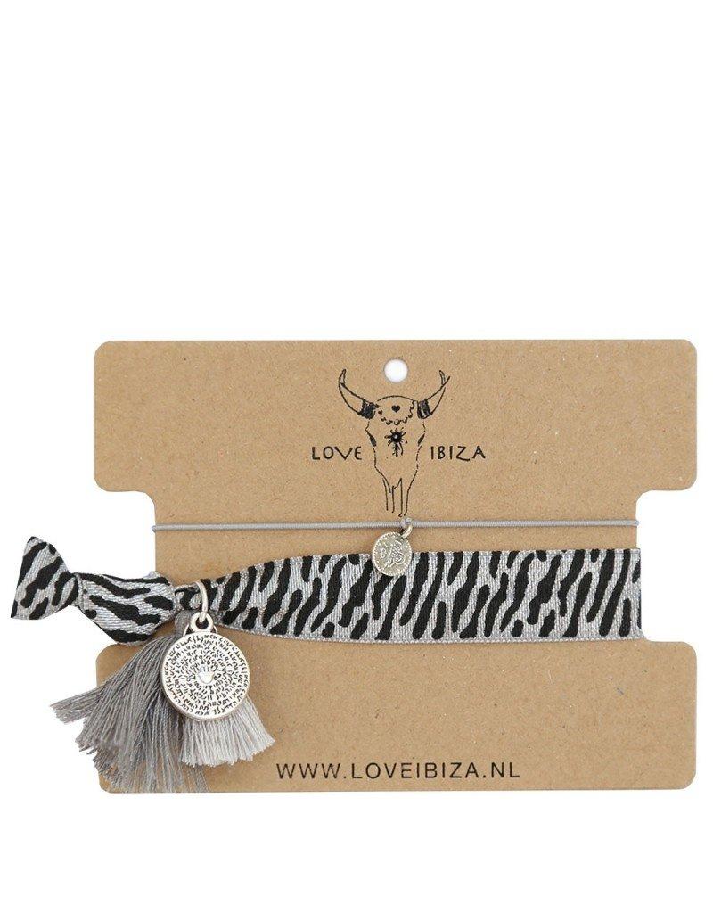 Love Ibiza Gypsy set of 5 bracelets / rubber bands