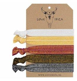 Love Ibiza Frozen set of 5