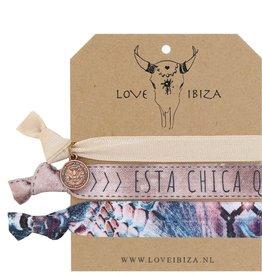 Love Ibiza Chica  set van 3