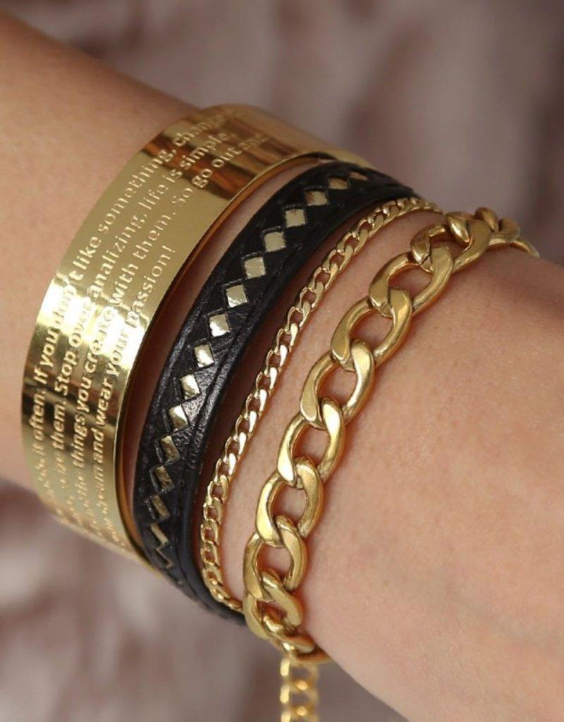 Love Ibiza Leather bracelet