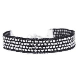 Love Ibiza Silver sparkle bracelet