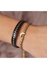 Love Ibiza Moon and star bracelet