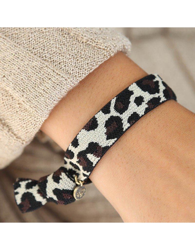 Love Ibiza Armband leopard beige
