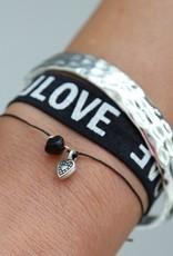Love Ibiza Armbandje in glas