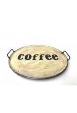 Damn Iron tray coffee