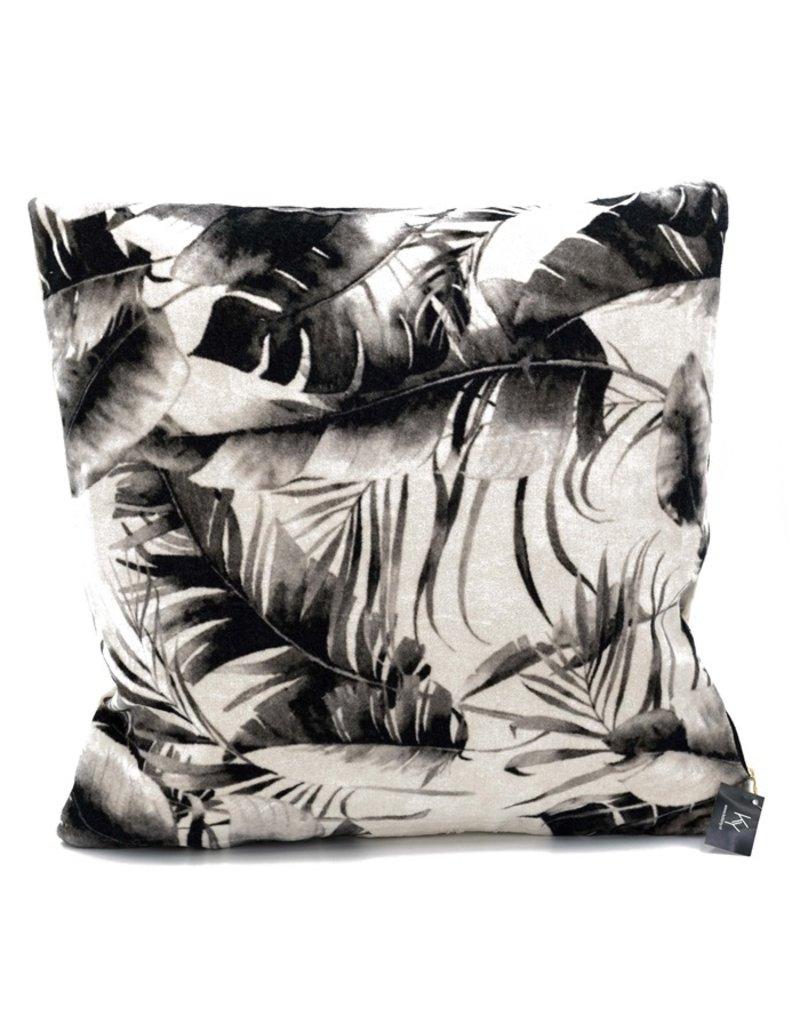 Damn Pillow leatherlook turqoise