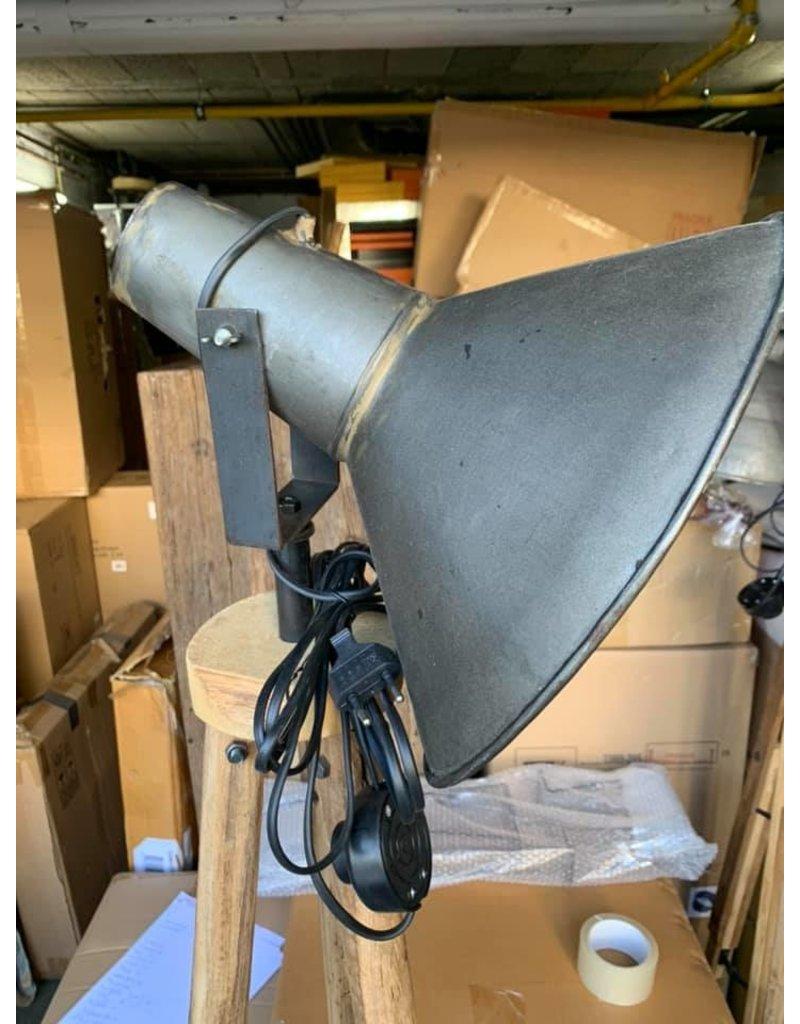 Damn lamp op voet punt kap XL