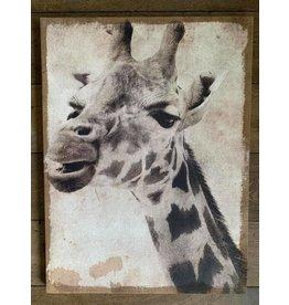 Damn Giraffe  op canvas
