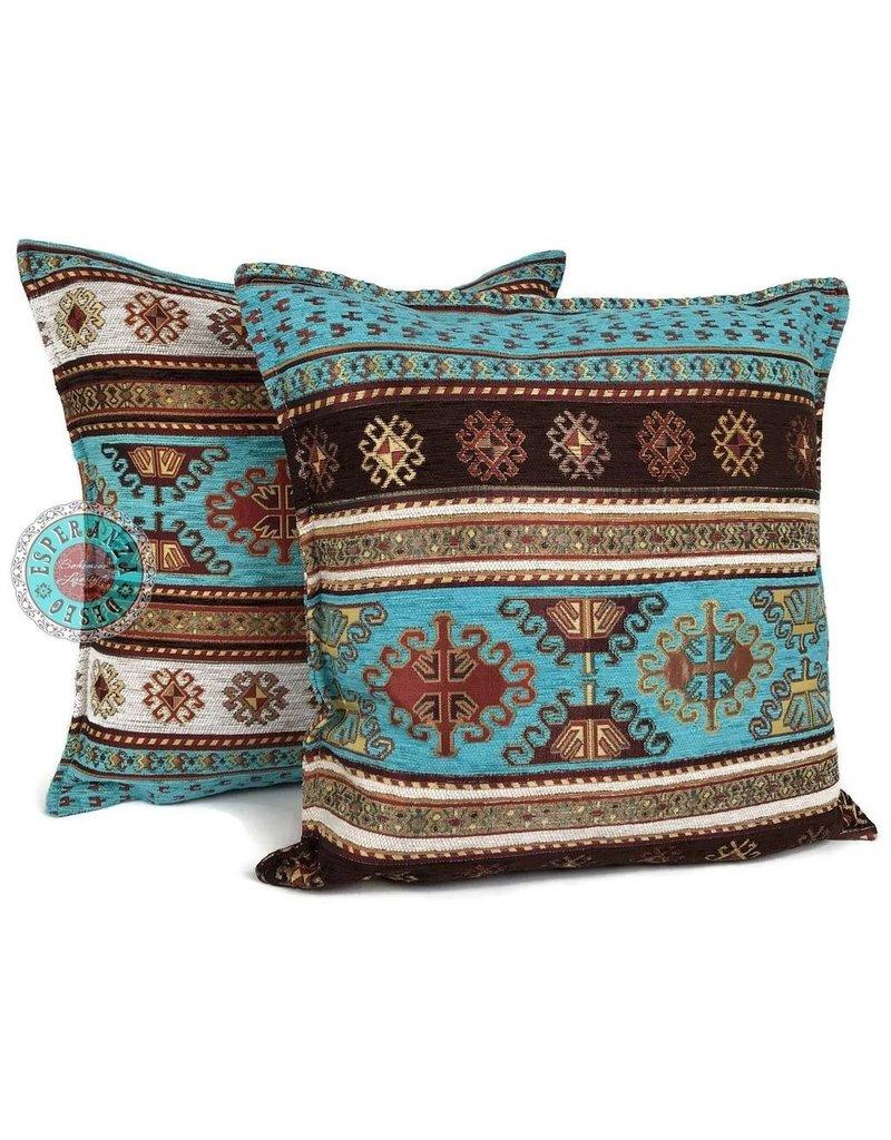 esperanza-deseo Peru kussenhoes/cushion cover 70 x 70