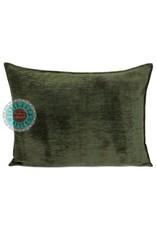 esperanza-deseo Army green pillow 50 x 70