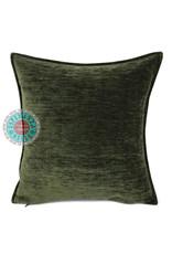 esperanza-deseo Army green kussenhoes 45 x 45