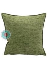 esperanza-deseo  Oliv green kussenhoes 45 x 45