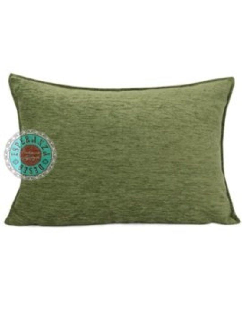 esperanza-deseo Oliv green kussenhoes 50 x 70