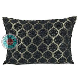 esperanza-deseo Honeycomb black pillow case / cushion cover ± 50x70cm