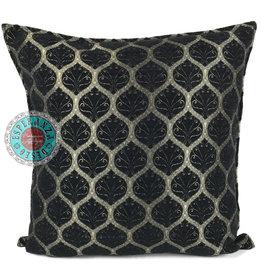 esperanza-deseo Honeycomb black pillow case / cushion cover ± 45x45cm