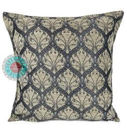 esperanza-deseo Honingraat creme kussenhoes/cushion cover ± 45x45cm