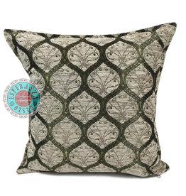 esperanza-deseo Honeycomb cream pillow case / cushion cover ± 45x45cm - Copy