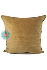 esperanza-deseo Camel gold kussenhoes/cushion cover ± 45x45cm