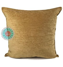 esperanza-deseo Camel gold kussenhoes/cushion cover ± 45x45cm