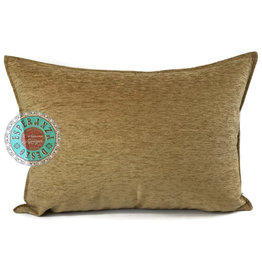 esperanza-deseo Camel gold kussenhoes/cushion cover ± 50x70cm