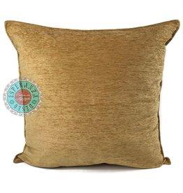 esperanza-deseo Camel gold kussenhoes/cushion cover ± 70x70cm