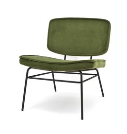 By-Boo Lounge chair Vice green