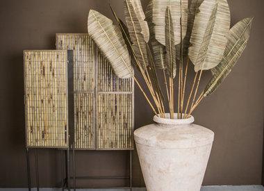 Bamboe en Manden