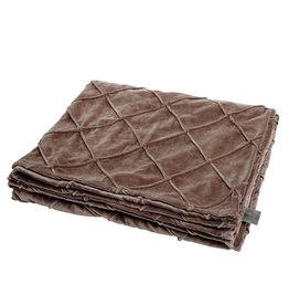 Damn Plaid blanket brown