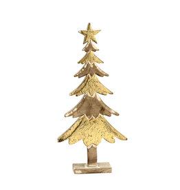 Damn Wooden tree gold 50 cm