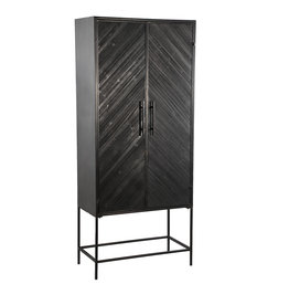 Damn Ray black wooden cabinet