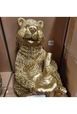Damn Beeld beer goud