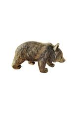 Damn Beeld beer brons