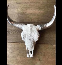 Damn Skull bedrukt groot 64 cm