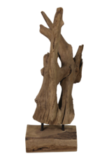 Damn Grof stuk hout 50 cm