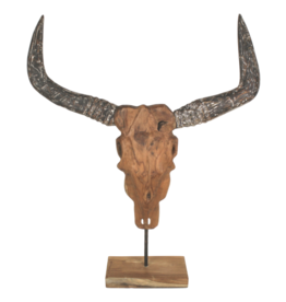 Damn Buffel hout op voet 80 cm