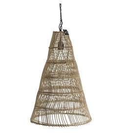 Damn Hanglamp  rotan 39 x 39 x 58 cm