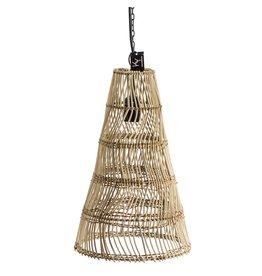 Damn Hanglamp  rotan 27 x 42 cm