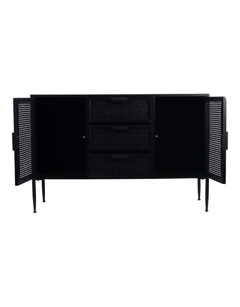 Damn Cabinet rotan black