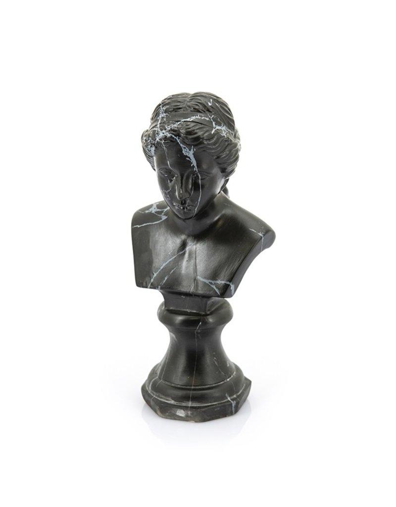 Damn Eve - black marble buste