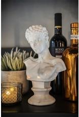 Damn Adam - white marble buste