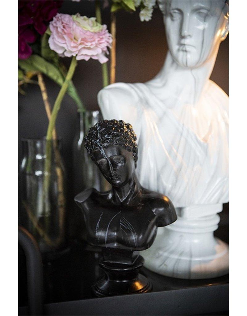 Damn Adam - black marble buste