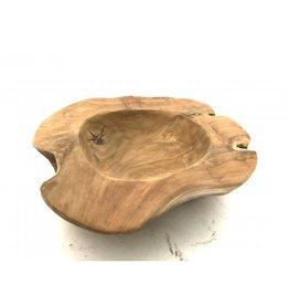 Damn Bowl teak hout